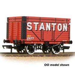 8 Plank Wagon Coke Rails 'Stanton' Red