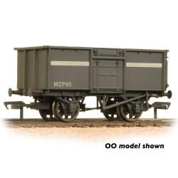 16 Ton Steel Mineral Wagon NCB Grey Weathered