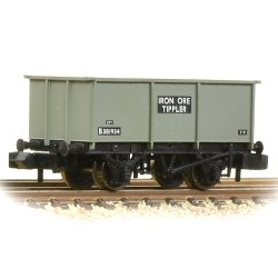 BR 27T Steel Tippler BR Grey (Early) 'Iron Ore'