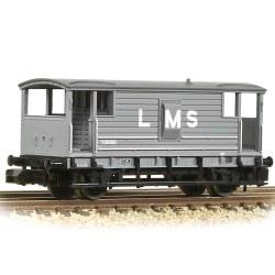 LMS 20T Brake Van LMS Grey