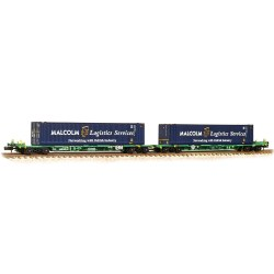 Intermodal Bogie Wagons 45ft Containers 'Malcolm Logistics'
