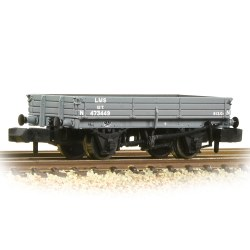 3 Plank Wagon LMS Grey