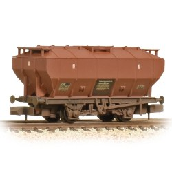 Covered Hopper Wagon BR Bauxite Weathered