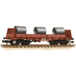 BAA Steel Carrier Wagon with Coils BR Brown