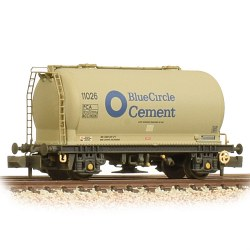 PCA Metalair Bulk Powder Wagon Blue Circle Weathered