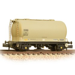 PCA Metalair Bulk Powder Wagon Grey Unbranded Weathered