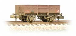 13 Ton High Sided Steel Wagon (Chain Pockets) BR Bauxite (Early) Weathered