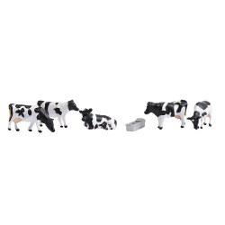 N Scale Cows