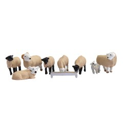 N Scale Sheep