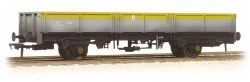 ZDA Bass Dropside Open Wagon BR Grey and Yellow Weathered