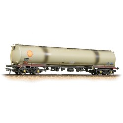 BR 102T TEA Bogie Tank Wagon 'BRT' Grey - Weathered