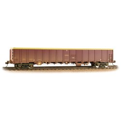 MBA Megabox Bogie Box Wagon EWS Weathered (with Buffers)