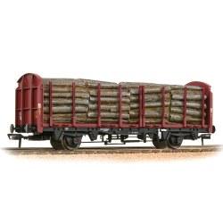 BR OTA Timber Wagon EWS - Includes Wagon Load