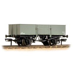 13 Ton H/Sided Steel Wagon (Smooth Sides & Wooden Doors) BR Grey
