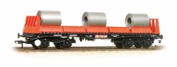 BAA Steel Carrier Wagon With Steel Coils BR Railfreight Red & Black