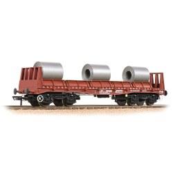 BR BAA Steel Carrier Wagon BR Bauxite (TOPS) - Includes Wagon Load
