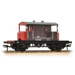 SR 25 Ton Pill Box Brake Van SR Brown