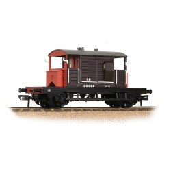 SR 25T 'Pill Box' Brake Van Left-Hand Duckets SR Brown