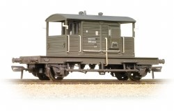 SR 25 Ton Pill Box Brake Van BR Departmental Weathered
