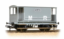 Midland 20T Brake Van Midland Railway Grey (no duckets)