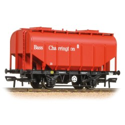 21 Ton Grain Hopper BR PO Bass Red