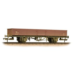 22 Ton Tube Wagon BR Bauxite (Early) Weathered