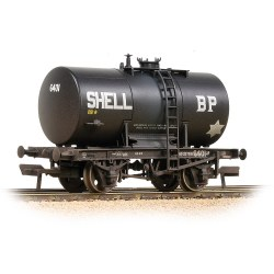20T Class B Anchor-Mounted Tank Wagon 'Shell BP' Black - Weathered
