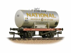 14T Class A Anchor-Mounted Tank Wagon 'National Benzole' Silver Weathered
