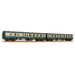 BR MK1 Twin Coach Pack (SK & BSK) BR Blue & Grey with Network SouthEast Flashes '18704' & '35280' Weathered