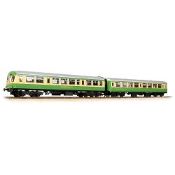 BR Mk2A TSO 'Clan Fraser' & Class 101 DTCL 'Hebridean' 'Highlander' Coach Pack Green & Cream  '5154' & '6300' includes Fitted Passengers