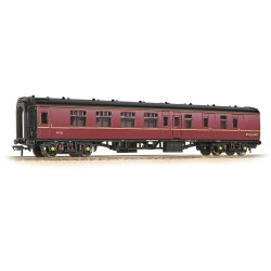 Mk1 BSK Brake Second Corridor WCRC Maroon