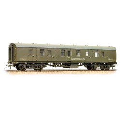 Mk1 BG Brake Gangwayed BR Departmental Olive Green  - Weathered