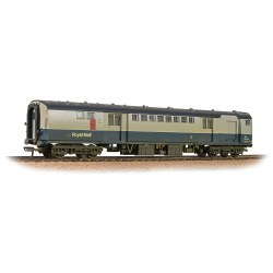Mk1 POS Post Office Sorting Van BR Blue & Grey (Royal Mail)  - Weathered