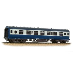 LMS 57ft 'Porthole' Second Corridor BR Blue & Grey
