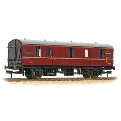 Mk1 CCT Covered Carriage Truck BR Maroon