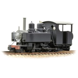 Baldwin 10-12-D Tank No. 4 Snailbeach District Railways Black - Weathered