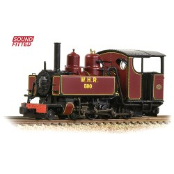 Baldwin 10-12-D Tank 590 Welsh Highland Railway Lined Maroon - Sound Fitted