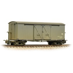 Bogie Covered Goods Wagon Nocton Estates L. R. Grey - Weathered