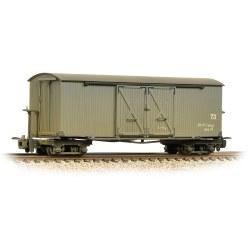 Bogie Covered Goods Wagon Nocton Estates L. R. Grey - Weathered