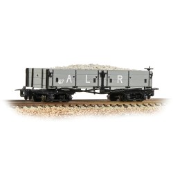 Open Bogie Wagon Ashover L. R. Grey - Includes Wagon Load