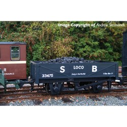 RNAD Rebuilt Open Wagon Statfold Barn Railway Grey