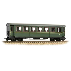 Steel Bodied Third Bogie Coach Lined Green