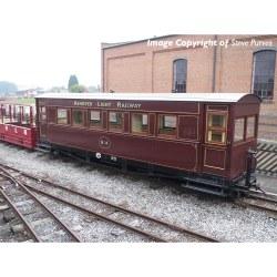 Bogie Coach Ashover Railway Crimson