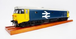 Class 50 BR large logo blue - unnumbered