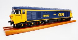 Class 50 50 049 'Defiance' in GB Railfreight livery