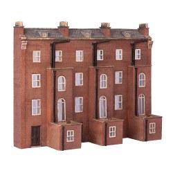 Low Relief Rear of Victorian Tenements