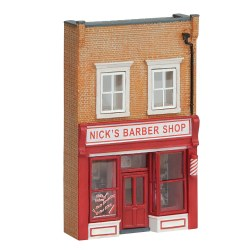 Low Relief Nick's Barbers