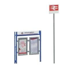 Station Signage set