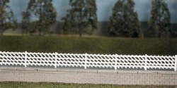 LMS MR Station Fencing white