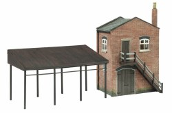 Industrial Stores and Canopy